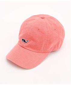 Vineyard Vines - Salt Wash Twill Hat - Jetty Red
