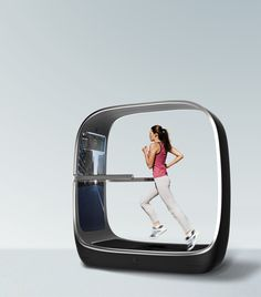 voyager _ smart treadmill on Behance