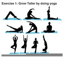 Yoga to grow taller