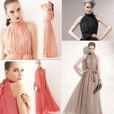 Long dress maxi chiffon new sleeveless ruffle neck dresses