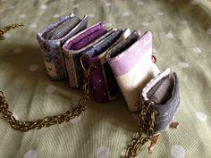 """Siii, un invento nuevo, libritos y cuadernillos minicostureros de bolsillo, toma ya"""""""" jeje . Recien salidos de mi fabrica""""   Una de las tel..."""