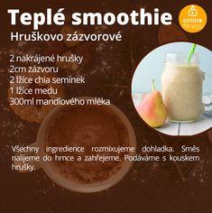 5 teplých smoothies, které ti zpříjemní zimní dny | Blog | Online Fitness Blog Online, Cantaloupe, Smoothies, Food And Drink, Fresh, Drinks, Cooking, Sweet, Diet