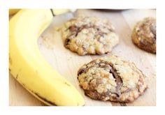 Das Rezept für Nutella Bananen Cookies ist super einfach und das Ergebnis ist einfach super lecker und schmeckt gut nach Nutella und Banane