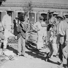 Frente Plaza de Mercado Mayaguez,1898.