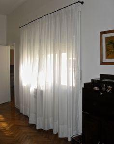 Detalle de costura del cabezal de tabl n encontrado de - Dobladillo cortinas ...