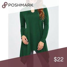 Keyhole Neck Asymmetrical T-shirt. Keyhole Neck Asymmetrical T-shirt. Material Polyester. Stand up collar, B-36, Waist-25, Hip-36. Tops Tees - Long Sleeve