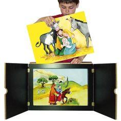 Erzähltheater Kamishibai Batai. Format: 46 x 33 x 7 cm, 3,5 kg (DIN-A3) 89,95 EUR