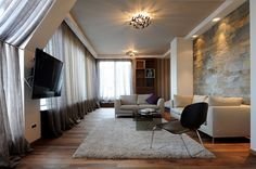 penthouse in Belgrade 9 Dominated by Modern Textures: Penthouse in Belgrade by Gradnja.rs