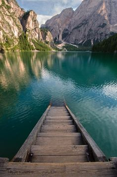 Lago di braies, Italy. The Fifth Watches // Minimal meets classic design: www.thefifthwatches.com