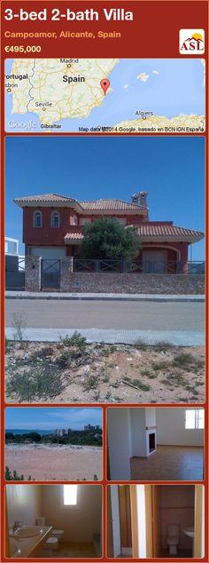 3-bed 2-bath Villa in Campoamor, Alicante, Spain ►€495,000 #PropertyForSaleInSpain
