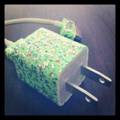 Cute phone charger (: