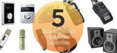 Five Pieces of Gear Every Sound Designer Needs : AskAudio Magazine