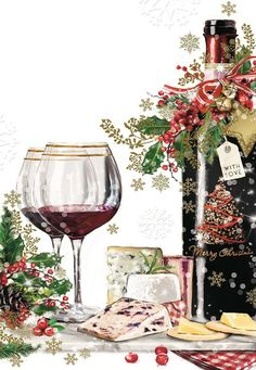 Large selection: Office Paper Products, Stationery & Office Supplies and much more. Christmas Artwork, Christmas Frames, Christmas Paintings, Christmas Paper, Christmas Pictures, Vintage Christmas, Christmas Holidays, Merry New Year, Merry Christmas And Happy New Year
