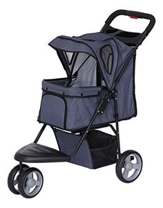 IRIS Pet Stroller Denim >>> You can get additional details at the image link. This is an Amazon Affiliate links.