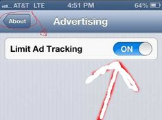How to Limit Ad Tracking on your iPhone 5s with iOS 6: Steps