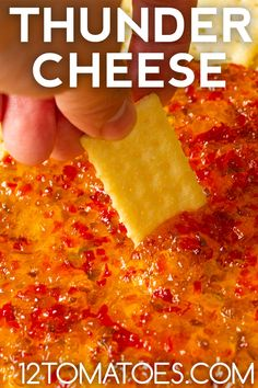 Thunder Cheese - As a dip or a spread, this packs a serious flavor wallop. Appetizer Dips, Yummy Appetizers, Appetizers For Party, Appetizer Recipes, Easiest Appetizers, Party Dips, Party Snacks, Dip Recipes, Cooking Recipes
