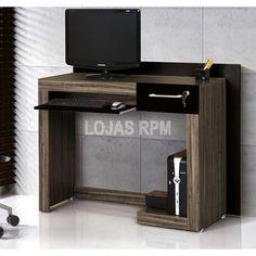 Mesa para Computador Madona - EDN Móveis -Pintura em Toque BP -Suporte para teclado com corrediça metálica -1 gaveta com chave R$240,90 10x de R$24,09 ou R$204,77 no Boleto ou Transferência