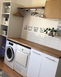 Laundry Room Inspiration, Home Interior Design, House Design, New Homes, Laundry Room Makeover, Bathroom Interior Design, Room Remodeling, Laundry Room Design, Utility Rooms