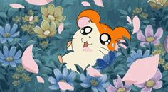 hamtaro gifs for all ! Hamtaro, Disney Marvel, Playlists, Sailor Moon, Thor, Vintage Cartoons, Cute Hamsters, Fanart, Kawaii Chibi