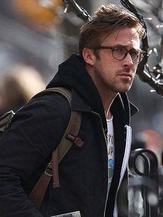 Ryan Gosling in glasses