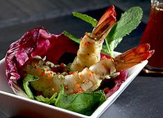 Food So Good Mall: Shrimp Mojito Tapas with Honey Red Pepper and Mint-cilantro  Salad