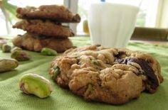 Chewy Pistachio Pretzel Chocolate Chip Cookies