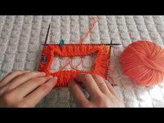 Узор для тапочек,спицами (дополнение) - YouTube