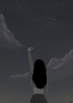 Image uploaded by Greta Macedonio. Find images and videos about girl, anime and sky on We Heart It - the app to get lost in what you love. Girly Drawings, Anime Girl Drawings, Anime Art Girl, Cute Cartoon Wallpapers, Animes Wallpapers, Sky Aesthetic, Aesthetic Anime, Images Kawaii, Fantasy Art Landscapes