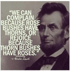 A quote (great one, I might add) showing how word labels can alter our perception of a long-held concept or object: rose-bush with thorns vs. thorn-bush with roses. This is brilliance, my fellow terps, brill.