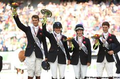 Eventing Jumping -Silver medalist - August 31th - Copyright : PSV Photo