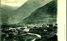 Sogn og Fjordane fylke Lærdal kommune Lærdalsøren tidlig 1900-tall Utg A.J.K.