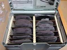 Image result for systainer sand paper storage