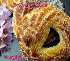 Es el nombre de unos dulces tradicionales que nos enseñan a preparar desde el blog Facilútil. ¿Por qué se llamarán así? My Recipes, Mexican Food Recipes, Donuts, Plum Cake, Pan Dulce, Bread Machine Recipes, Spanish Food, Doughnut, Sweet Tooth