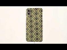 📲 iPhoneX Jackquard Yellow Carbon Fiber+KEVLAR/Aramid Fiber case by DUNCA 🔖 Carbon Fiber, Cases, Iphone, Yellow, Handmade, Hand Made, Handarbeit