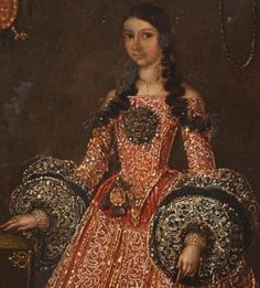 For Sale on - Although there are a fair number of century portraits from the Mexican nobility, those dating from the century are rather rare. The woman portrayed Mexicano Portrait of a Noble Woman Mexican Paintings, Art Deco Paintings, Mode Rococo, Baroque Painting, Art Deco Diamond, Diamond Brooch, Romantic Paintings, Spanish Fashion, Renaissance Paintings