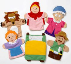 Storytelling made simpler with these adorable hand puppets