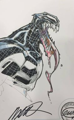 Spider-Gwen, Venom, Spider-Man, and Aracna by Humberto Ramos *