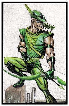 Green Arrow by Gary Shipman
