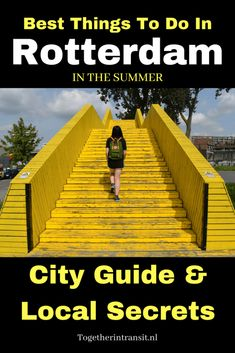 Space Guide Things to do in Rotterdam in Summer! City Guide and Local Secrets - Your perfect guide of best things to do in Rotterdam in Summer and sunny weather, including top walking tours, highlighs and hidden local secrets. Backpacking Europe, Europe Travel Guide, Travel Guides, Travel Destinations, Travel Advice, European Destination, European Travel, Euro Travel, Holland