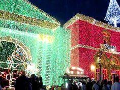 Dancing lights at Disney's Hollywood Studios