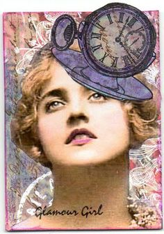 ATC Challenge ATC (check out this blog for membership of The ATC ClubImagine that you have been invited to the wedding of Kate and William on the 29th of April this year. You will need a hat or a crown, a fab and funky hat/crown...something different, something to make you stand out in the crowd .... go on... go for it.. lets see yours. the wackier the better xxx