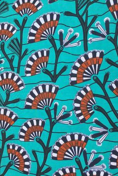 Pagne Wax 109 printed by Wax Collection, tissu africain : Tissus Habillement, Déco par odile-la-beninoise