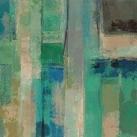 Framed Emerald Fields Square II Canvas Artwork, Framed Artwork, Canvas Prints, Big Canvas, Canvas Size, Painting Prints, Art Prints, Green Art, Blue Green