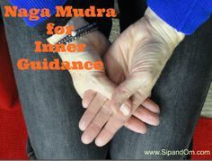 Do this mudra for inner guidance. Receive free weekly meditations at www.SipandOm.com.