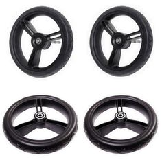 Aerotech wheel bundle for Mountain Buggy duet strollers
