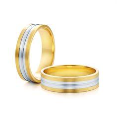 SAVICKI - Obrączki ślubne: Obrączki z dwukolorowego złota (Nr 231) - Biżuteria od 1976 r. Wedding Rings, Engagement Rings, Jewelry, Enagement Rings, Jewlery, Jewerly, Schmuck, Jewels, Jewelery