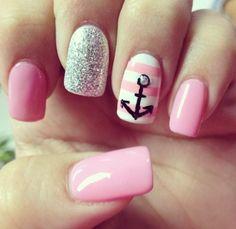 Anchor nails.