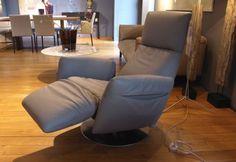 Poltrona Frau - Relaxsessel Pillow mit Motor Leder mausgrau - LP 5.120,- EUR in in Moers   eBay