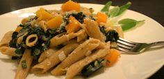 Recipe | Winter Squash Rigatoni | Dawn Jackson Blatner, Registered Dietitian