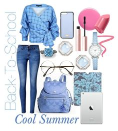 Cool Summer by prettyyourworld on Polyvore featuring WithChic, Bling Jewelry, Judith Jack, Dolce&Gabbana, Amy Butler, Bobbi Brown Cosmetics, Too Faced Cosmetics, Ilia and rms beauty